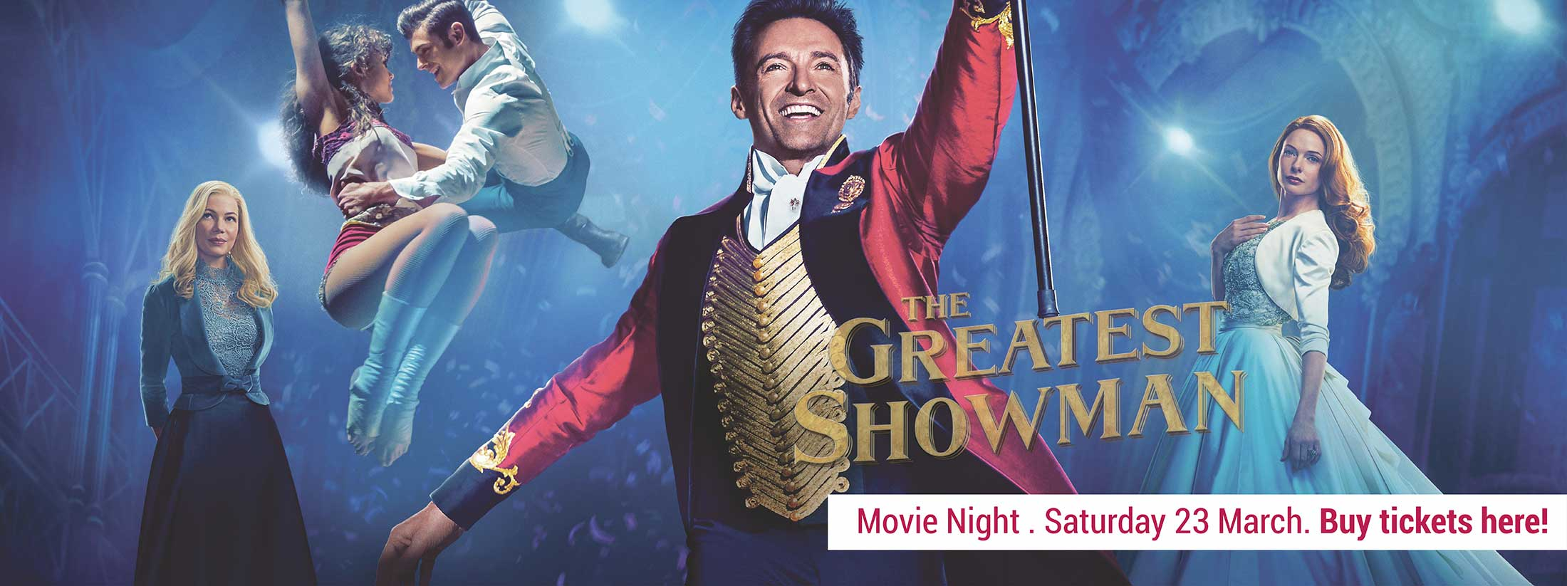 movie night the greatest showman charlton christian college