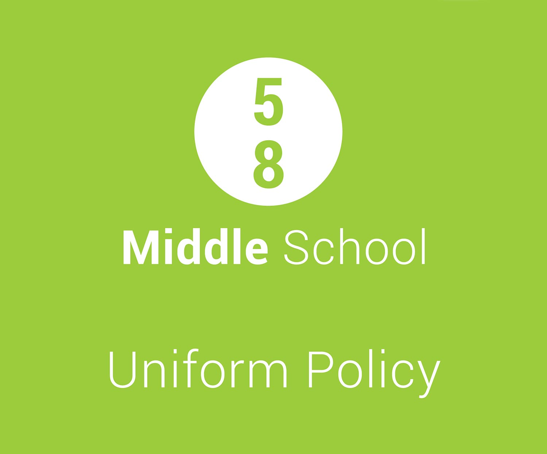 middle school uniform policy charlton christian college
