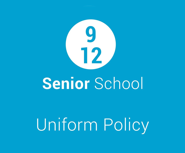 senior school uniform policy charlton christian college