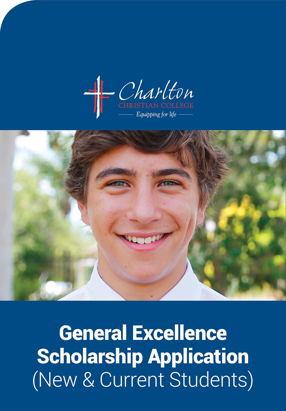 charlton christian college scholarship general excellence application
