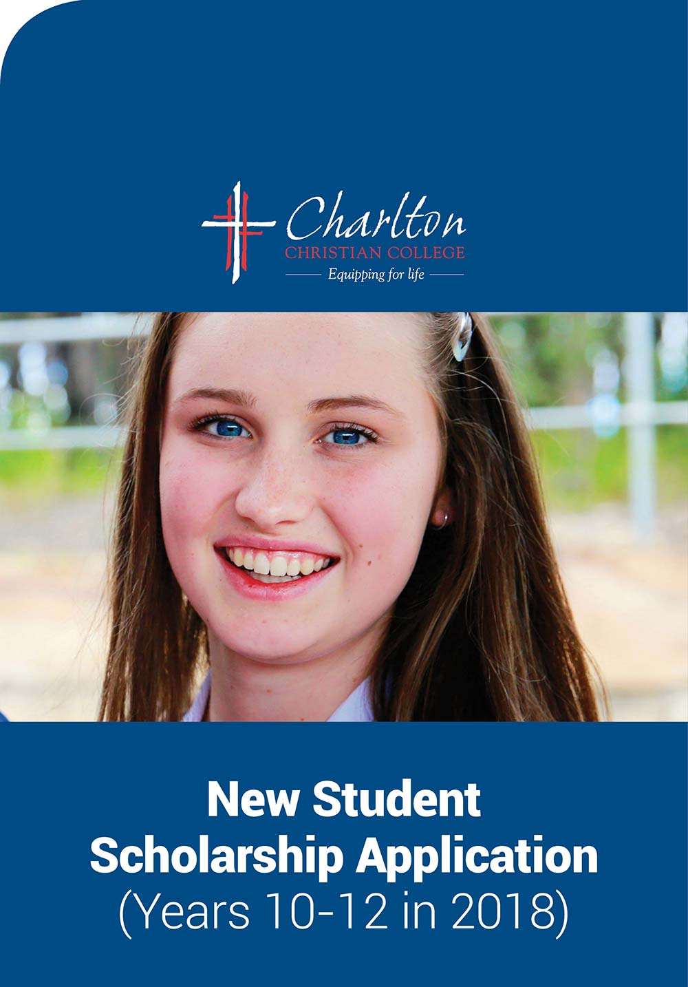 charlton christian college scholarship application new students