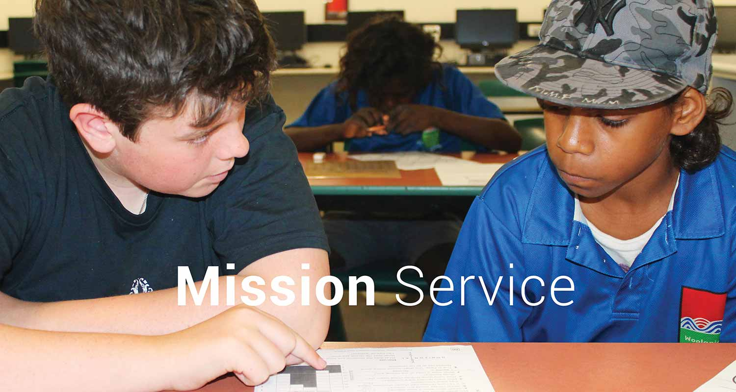 charlton christian college mission service