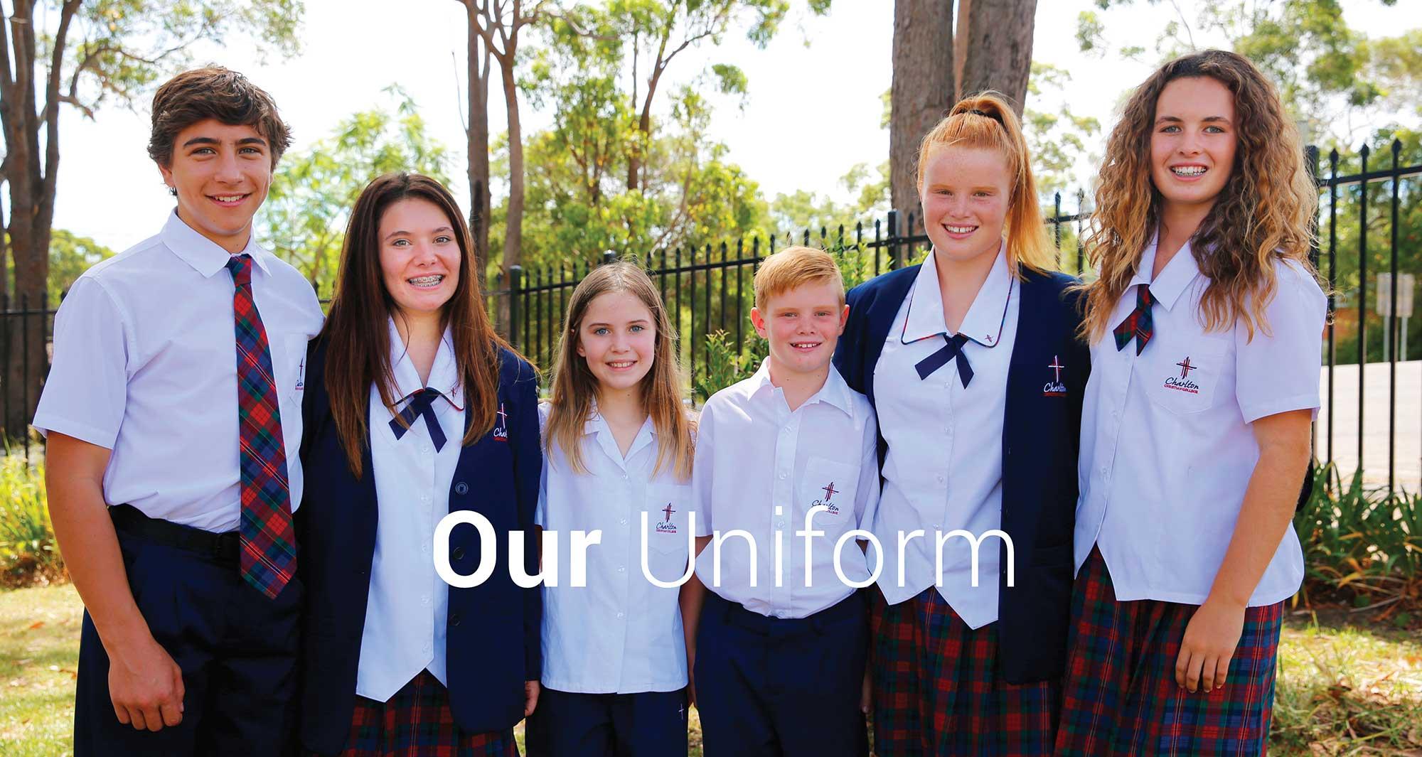 charlton christian college uniform