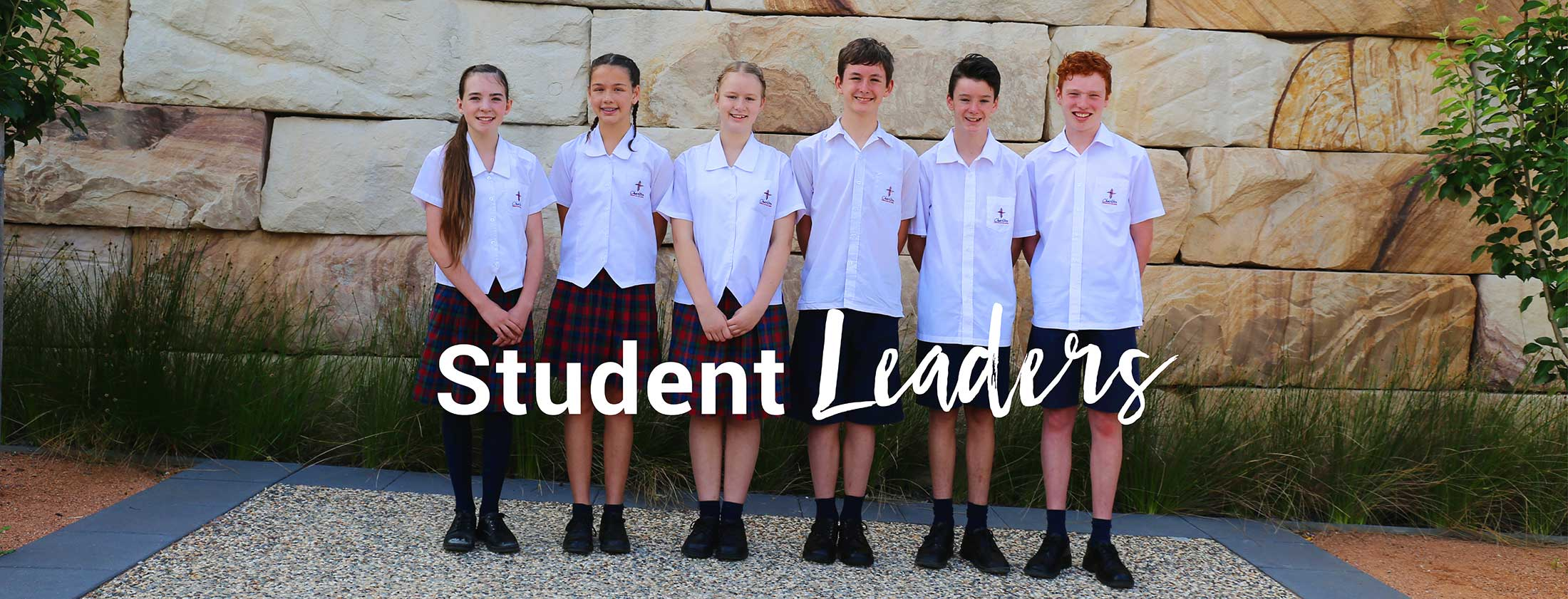 Charlton Christian College middle school student leaders