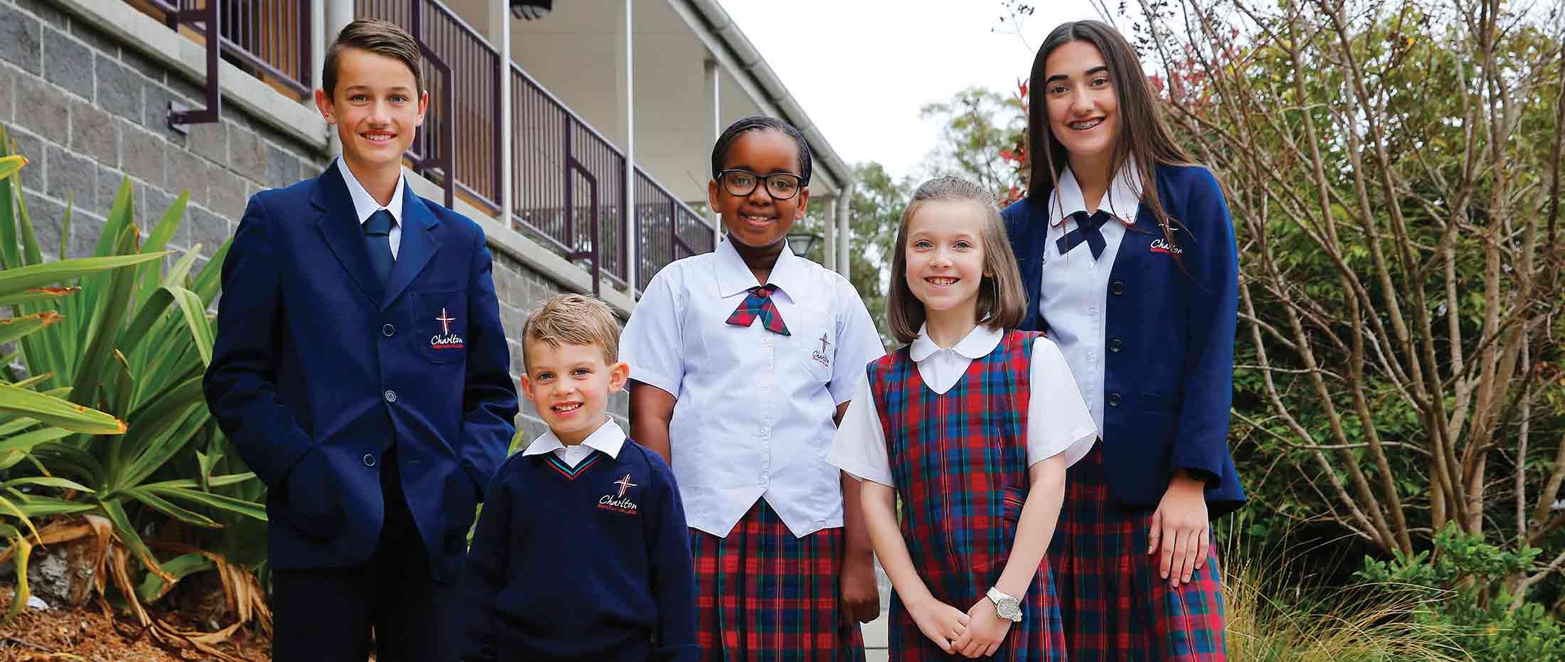 school uniform charlton christian college