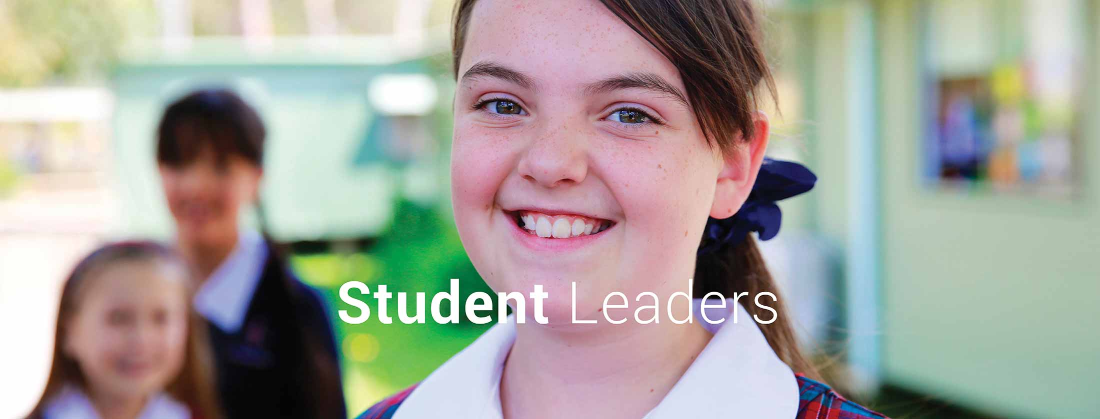 Charlton Christian College junior school leaders